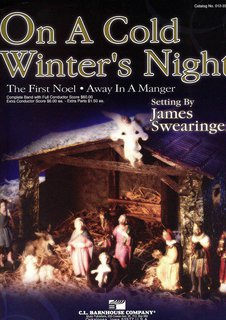 On a Cold Winters Night - Set (Partitur und Stimmen)