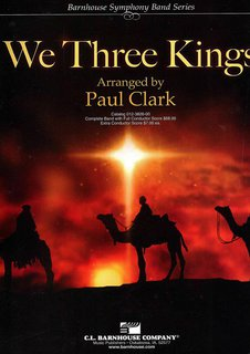 We Three Kings - Set (Partitur und Stimmen)