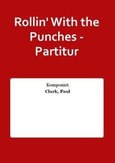 Rollin With the Punches - Partitur