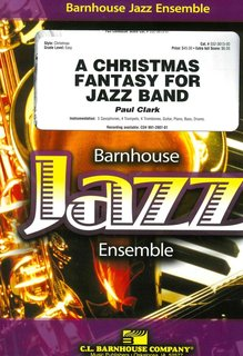 Christmas Fantasy for Jazz Band, A - Set (Partitur und Stimmen)