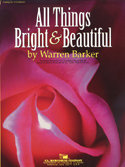 All Things Bright and Beautiful - Partitur