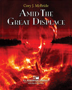 Amid the Great Displace - Partitur