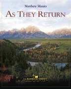 As They Return - Partitur