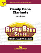 Candy Cane Clarinets - Partitur