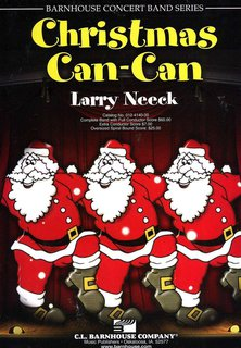 Christmas Can-Can - Partitur