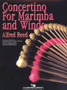 Concertino for Marimba and Winds - Partitur
