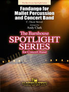 Fandango for Mallet Percussion and Concert Band - Partitur