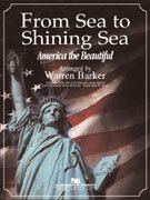 From Sea To Shining Sea - Partitur