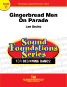 Gingerbread Men on Parade - Partitur