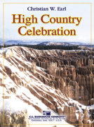 High Country Celebration - Partitur