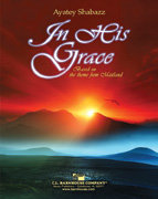 In His Grace - Partitur
