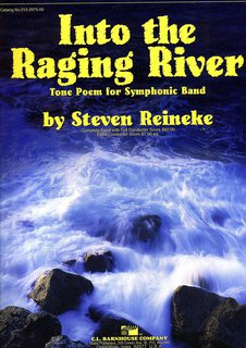Into the Raging River - Partitur