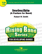 Invincible: A Fanfare For Band - Partitur