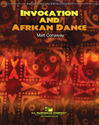Invocation and African Dance - Partitur