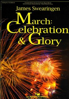 March: Celebration and Glory - Partitur