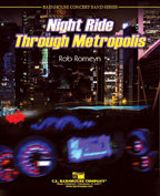 Night Ride Through Metropolis - Partitur