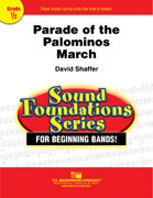 Parade of the Palominos: March - Partitur