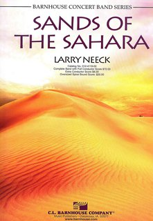 Sands of the Sahara - Partitur