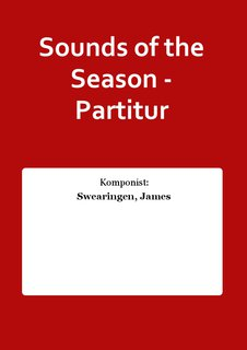 Sounds of the Season - Partitur