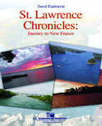 St. Lawrence Chronicles: Journey to New France - Partitur