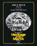 True Blue: March - Partitur