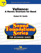 Valiance: A Heroic Overture for Band - Partitur
