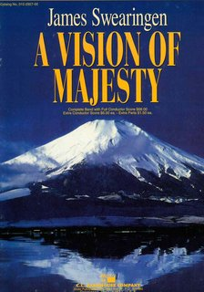 Vision of Majesty, A - Partitur