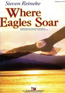 Where Eagles Soar - Partitur