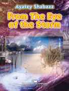 From the Eye of the Storm - Partitur DIN A3 Großformat