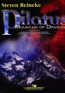 Pilatus: Mountain of Dragons - Partitur DIN A3 Großformat