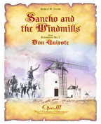 Sancho and the Windmills (Symphony #3, Don Quixote, Mvt.3) - Partitur DIN A3 Großformat