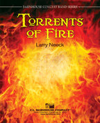 Torrents of Fire - Partitur DIN A3 Großformat