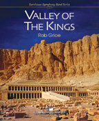 Valley of the Kings - Partitur DIN A3 Großformat