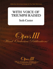 With Voice of Triumph Raised - Set (Partitur und Stimmen)
