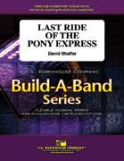 Last Ride of the Pony Express - Partitur