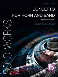 Concerto for Horn and Band Partitur