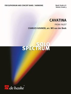 Cavatina - Partitur