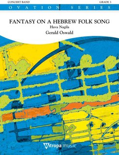 Fantasy on a Hebrew Folk Song - Partitur