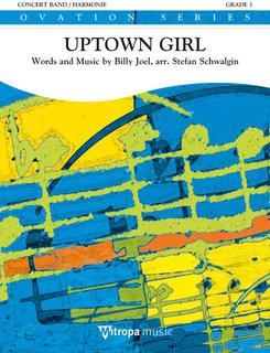 Uptown Girl - Partitur
