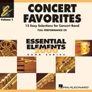 Concert Favorites Vol. 1 - Mitspiel-CD