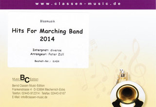 Hits for Marching Band 2014