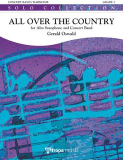 All Over the Country - Partitur