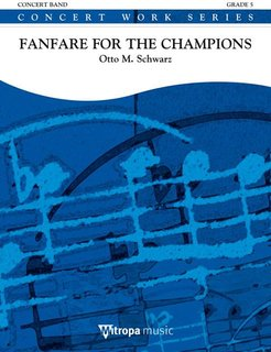 Fanfare for the Champions - Partitur
