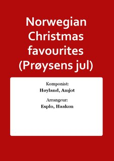 Norwegian Christmas favourites (Prøysens jul)