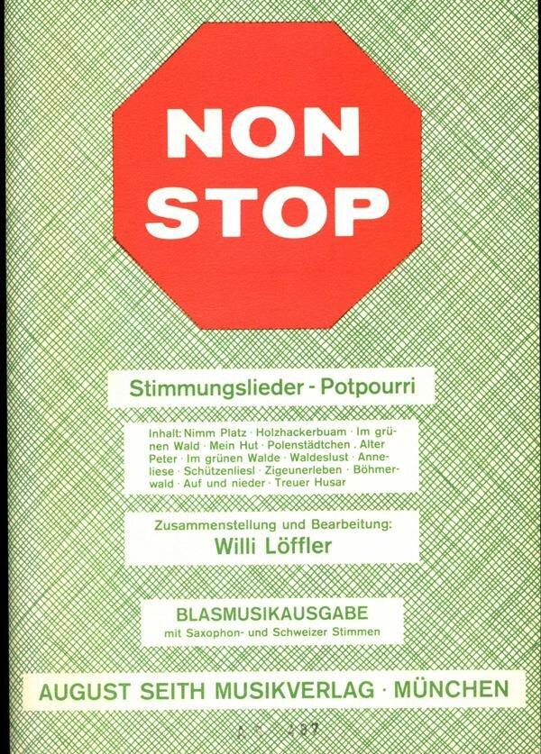 Non Stop - Stimmungslieder-Potpourri | Noten - Karneval | Arr. Willi ...