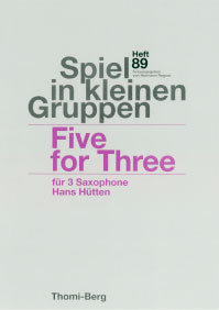 Five for Three für 3 Saxophone