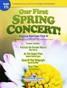 Our First Spring Concert! - Partitur
