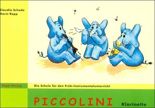 Piccolini f�r Klarinette (Band 1)