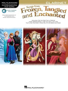 Songs From Frozen, Tangled and Enchanted - Klarinette