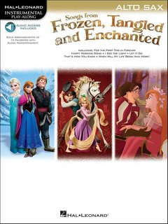 Songs From Frozen, Tangled and Enchanted - Altsaxofon